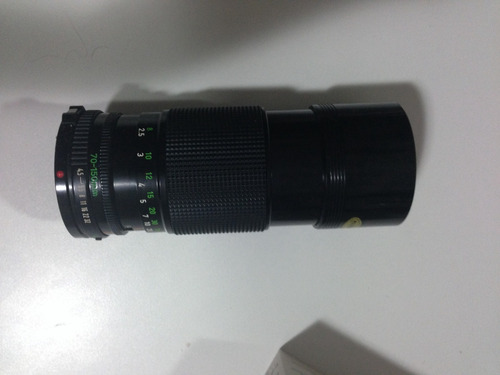 lente objetiva canon zoom fd 70-150mm 1:4.5