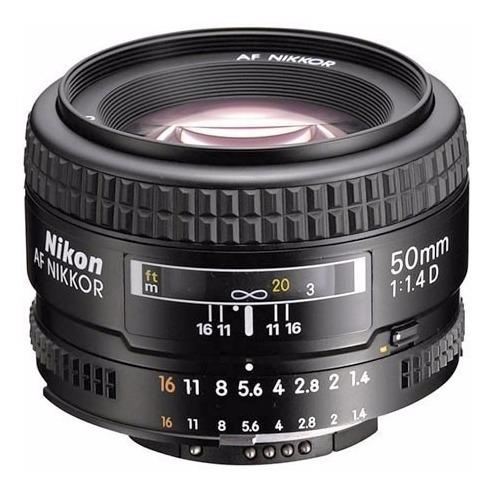 lente objetivo nikon 50mm af 1.4 d alta velocidad garantia!!