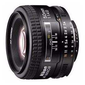 lente objetivo nikon 50mm af 1.4 d alta velocidad nikkor