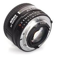 lente objetivo nikon 50mm af 1.4 d nuevos alta veloc. gtia