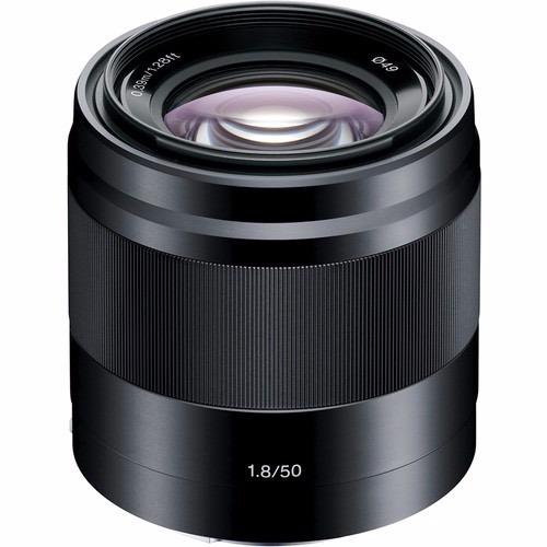 lente objetivo sony alpha e 50mm