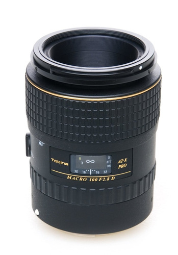 lente objetivo tokina at-x 100mm f/2.8 pro d macro para nik