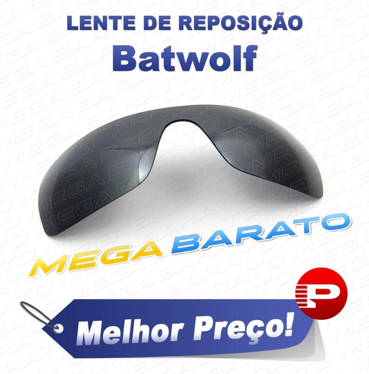 lente óculos batwolf preto cromo black chrome polarizada. Carregando zoom. 581068d686