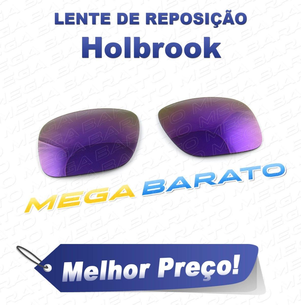 9222e3b8b987c lente óculos holbrook roxo plasma purple polarizada. Carregando zoom.