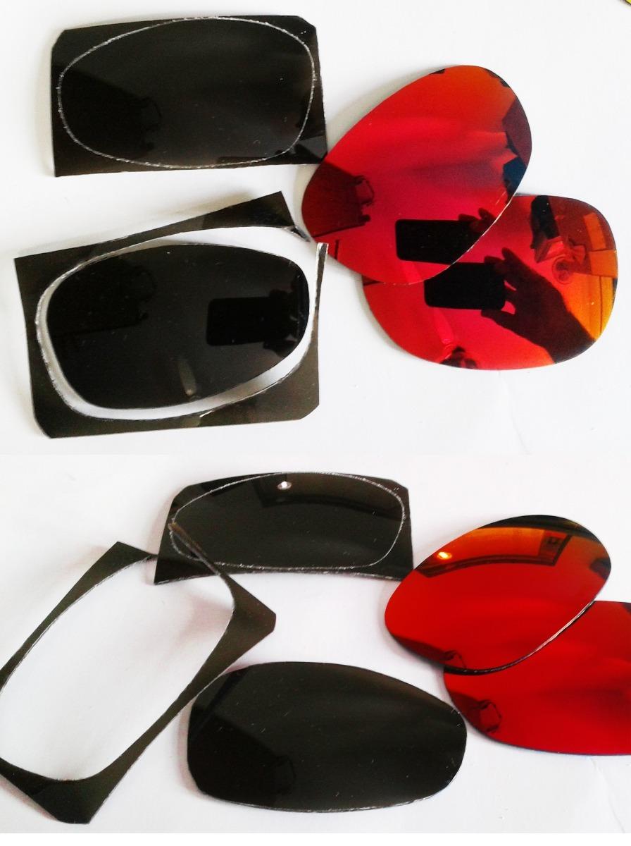 d0e5511e5b801 Lente Oculos De Sol Verde G20 Polarizada Para Reposição - R  50