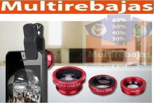 332418e9aa6 Lente Ojo De Pez 3 En 1 Universal Para Fotografías - U$S 2,89 en ...