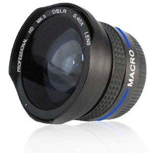 lente ojo de pez .40x fisheye p canon powershot s5 is hm4