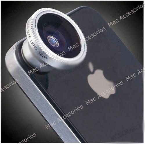 lente ojo de pez para todos los celulares iphone