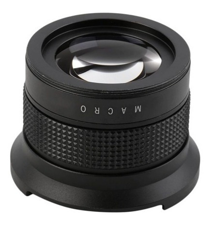 lente olho de peixe e macro rosca 58mm canon t6i t5i t4i t5
