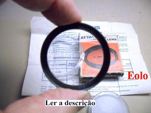 lente olympus close up 30cm  p/  pen e  trip * rara ! * cx5