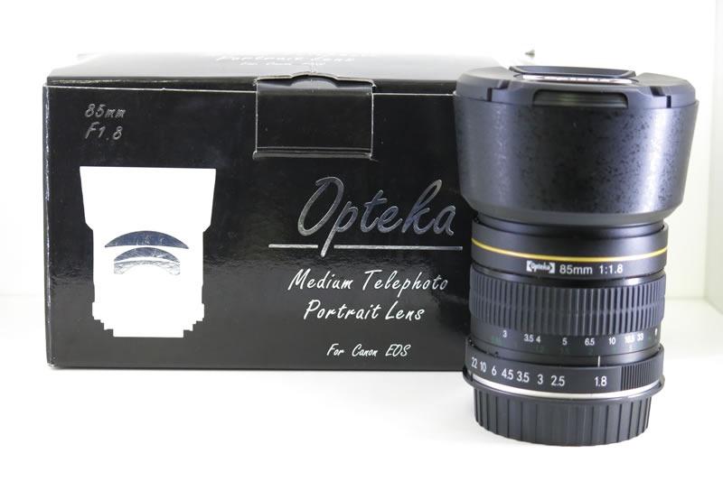 99f27fd35 Lente Opteka 85mm F1.8 Canon Eos Foco Manual Abertura 1.8 - R$ 1.298 ...
