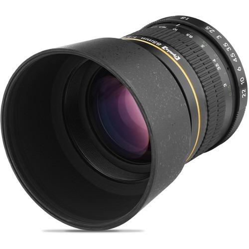 lente opteka fx 85mm f/1.8 para nikon mfr # opt85n garantia!