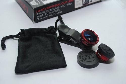 lente optico para celulares mejora la camara