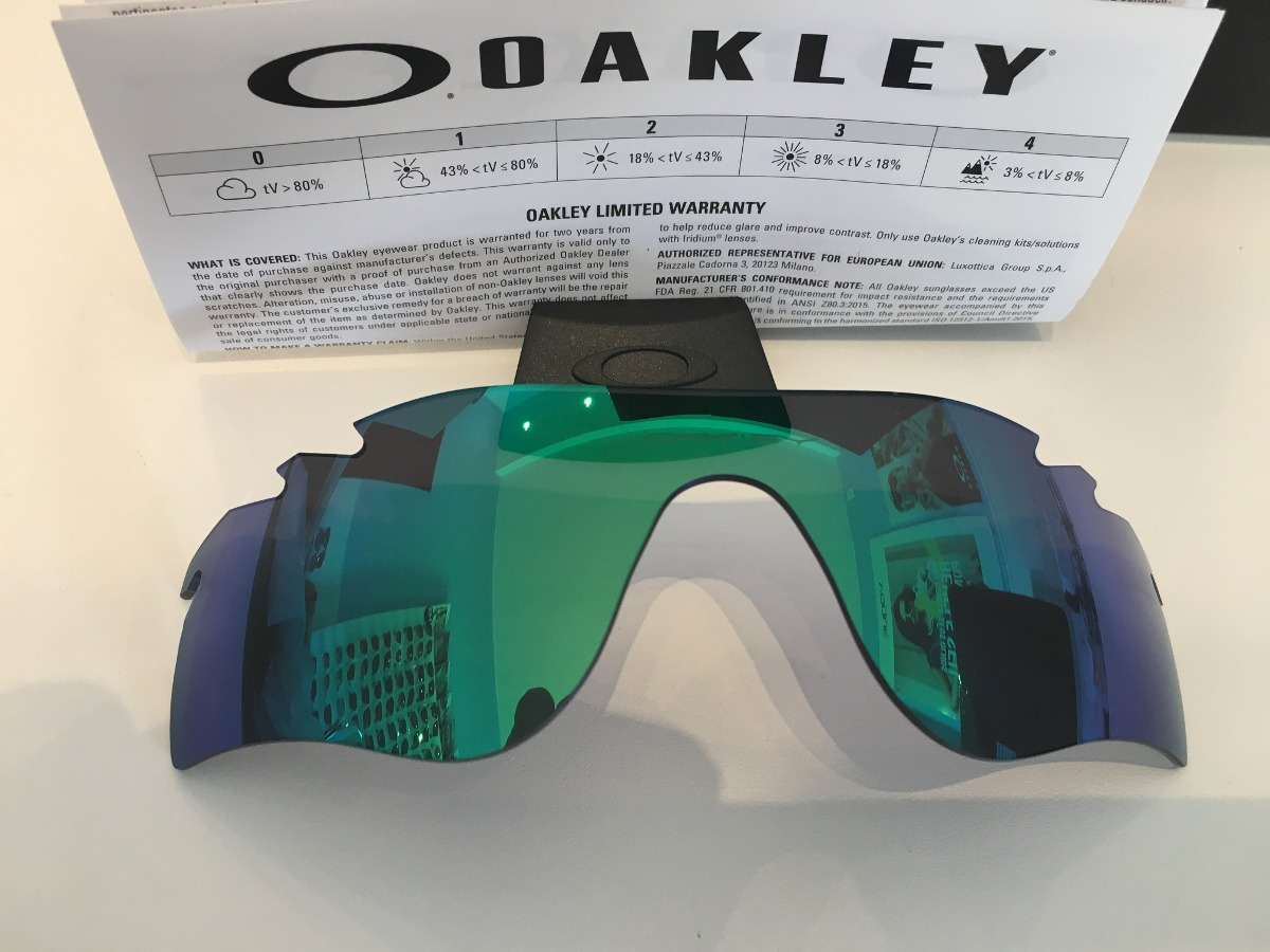 7c602b9343894 Lente Original Oakley Radarlock Path Jade Iridium Oo9181 - R  199,00 ...