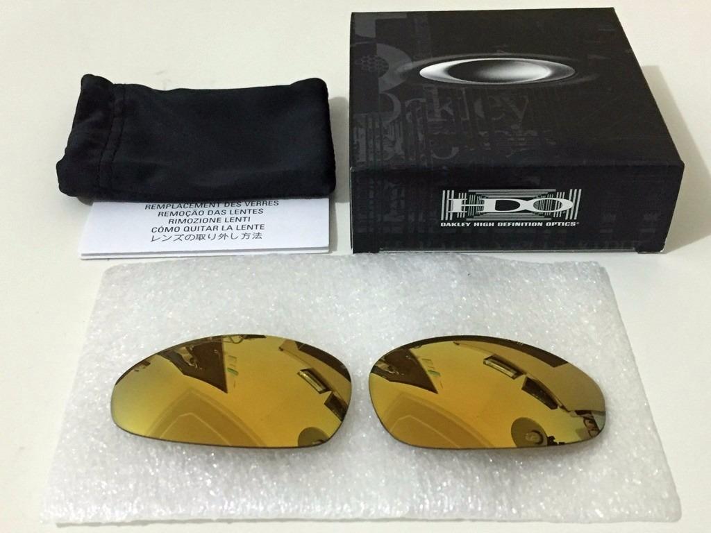 a44a493ef0250 lente original para oakley juliet 24k iridium - menor preço. Carregando  zoom.