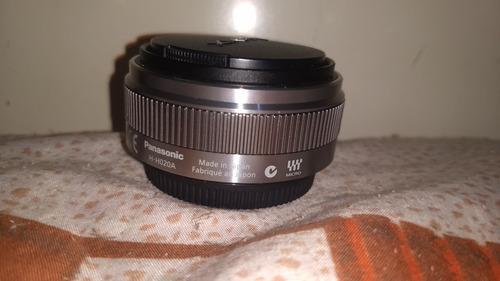 lente panasonic 20mm 1,7 m4/3 excelente estado semi nova