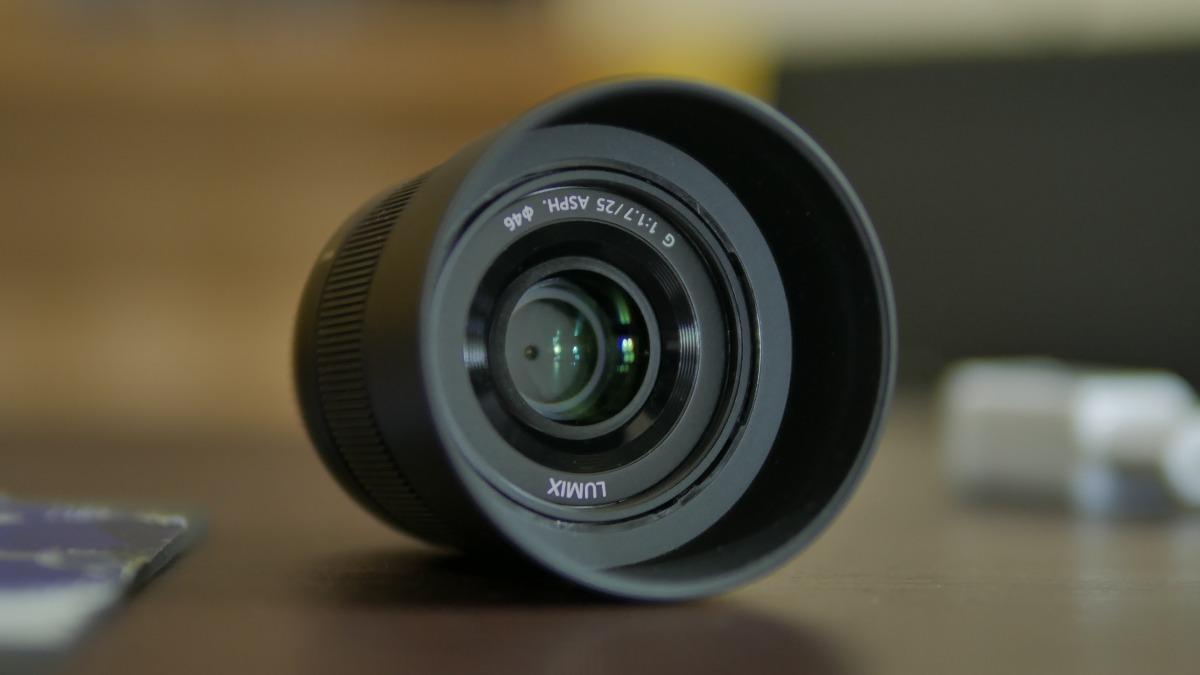 Lente Panasonic Lumix G 25mm F 17 Mft Oportunidade R 120000 Em F17 Asph Lens Carregando Zoom
