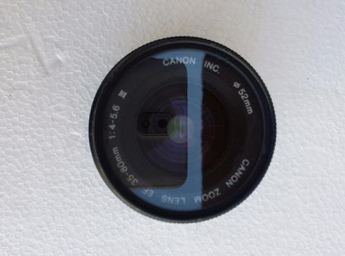 lente para camara profesional canon 35-80mm