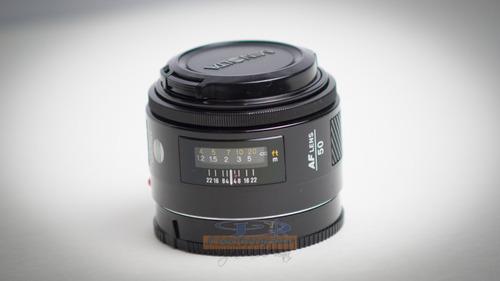 lente para camara sony alpha montura a minolta 50mm f 1.7