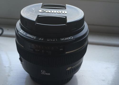 lente para camaras dsrl canon 50mm f/1.4