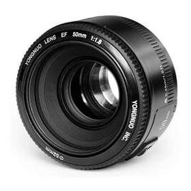 Lente Para Canon 50mm F/1.8 - Yongnuo T3i, T5, T5i, T6, T6i