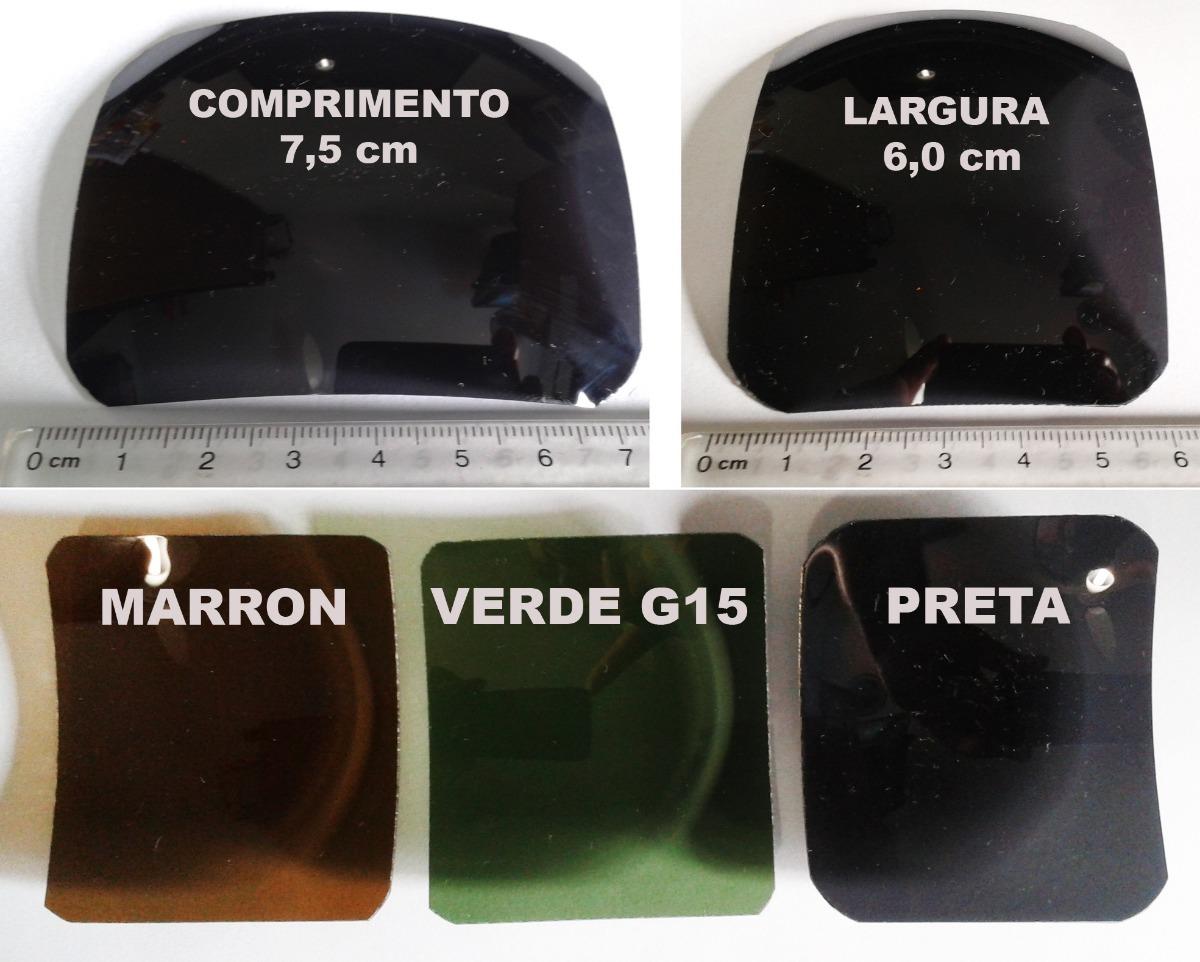 lente para oculos solar para recorte verde g20 polarizada. Carregando zoom. 54caa136d5