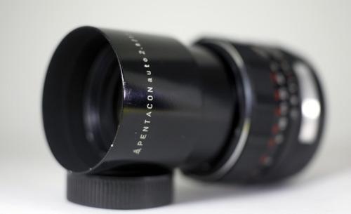 lente pentacon auto 135mm f=2.8 - m42 (rosca)