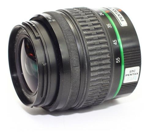 lente pentax 18-55 macro  digital