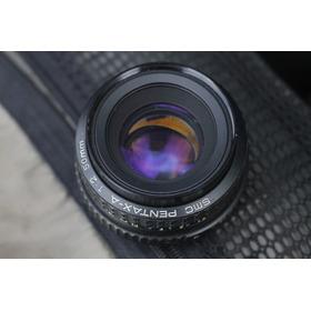 Lente Pentax-a 50mm F2