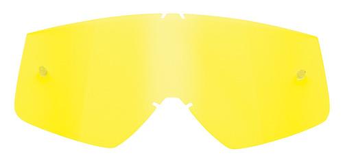 lente p/gafas thor sniper/conquer rep. amarillo tu