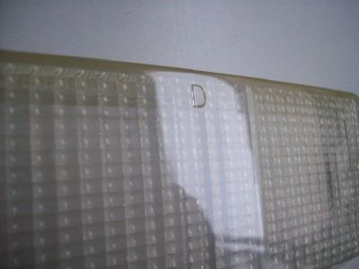 lente pisca dianteiro fiat 147 lado direito cristal