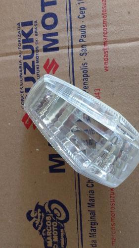 lente pisca original cristal suzuki