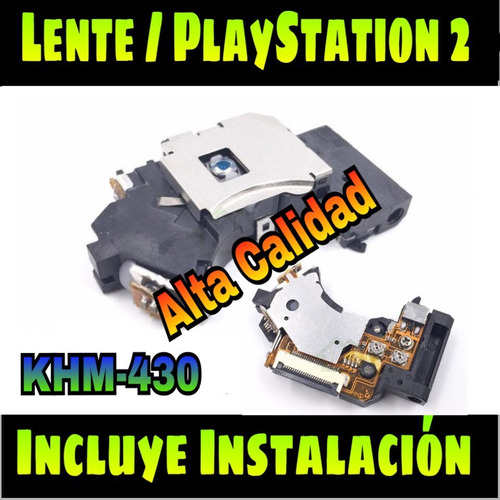 lente playstation 2 slim  modelo khm-430 original