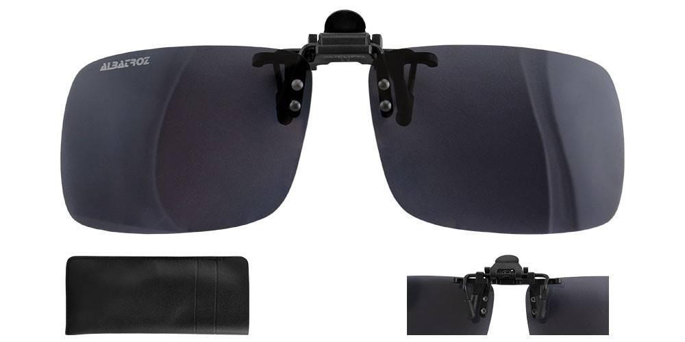 08164804f lente polarizada clip on pesca p/ óculos grau uv400 albatroz. Carregando  zoom.