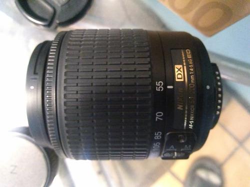 lente profesional nikon 55-200 f/4-5g ef-af nuevo en caja ls