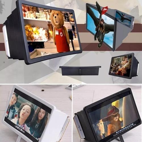 lente projetor amplia imagem celulares smartphone tablet