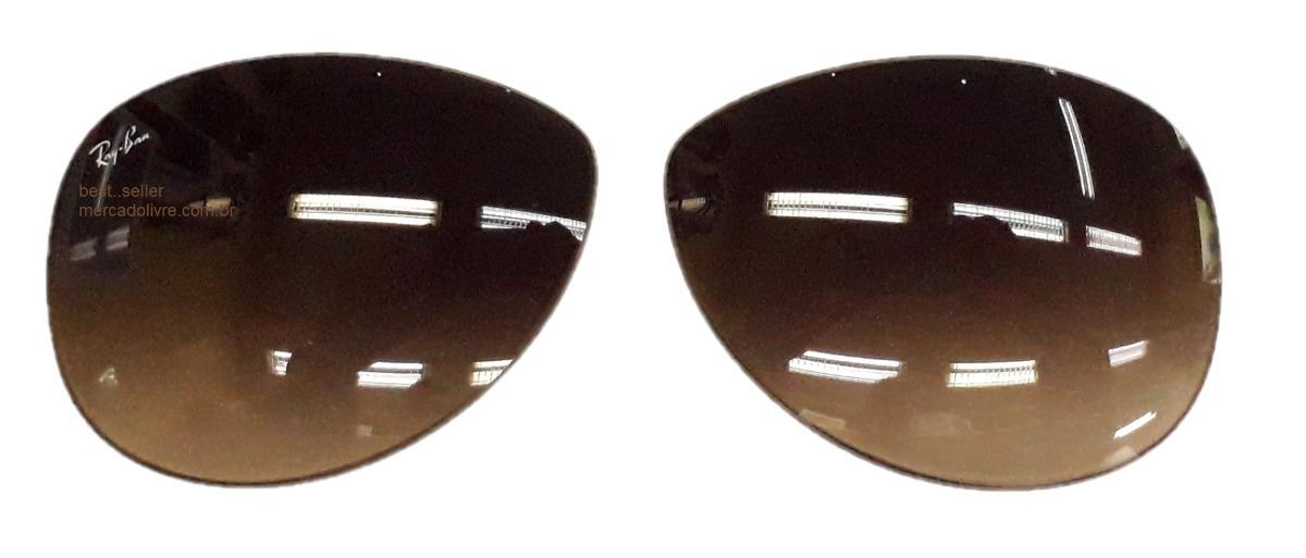 3d60df880a205 lente ray ban aviador rb 3386 63 rb3386 marrom 001 13 3293. Carregando zoom.