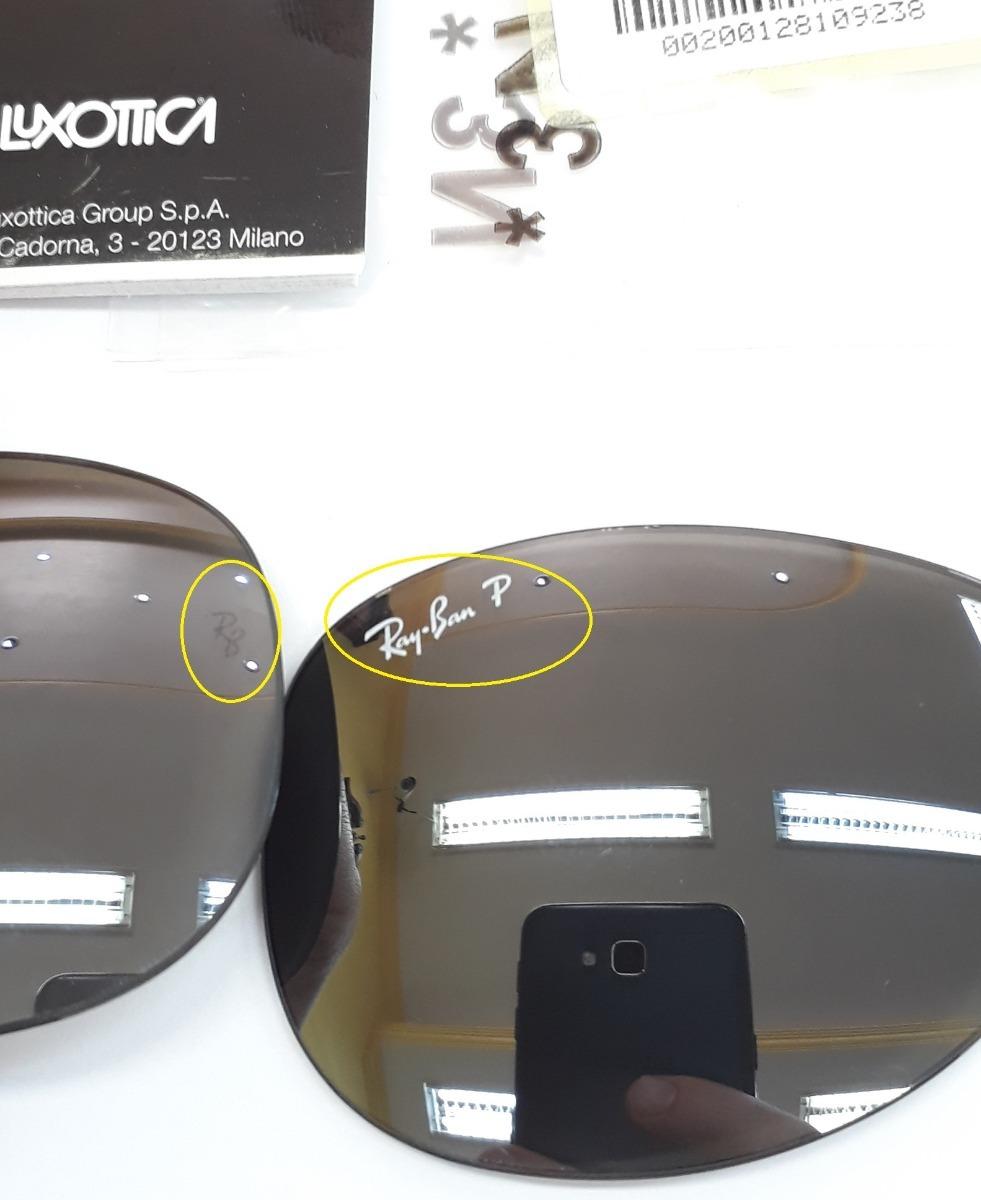 e0219a6d0 Lente Ray-ban Aviador Rb8301 002/k7 59 Espelhado Polarizado - R$ 250 ...