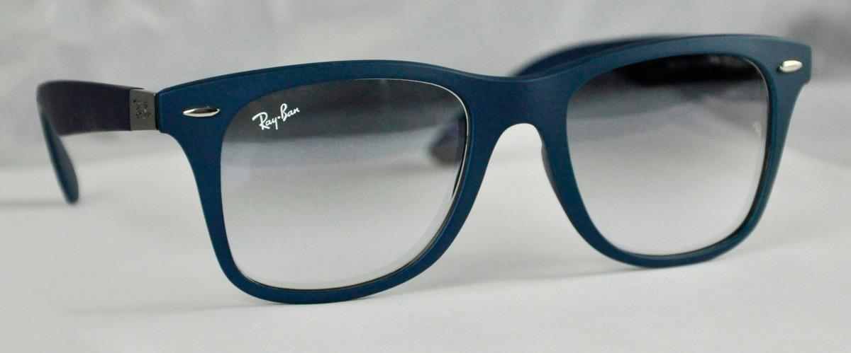 Lente Ray-ban Liteforce Negro Polarizado Marco Azul - Bs. 191.531,10 ...