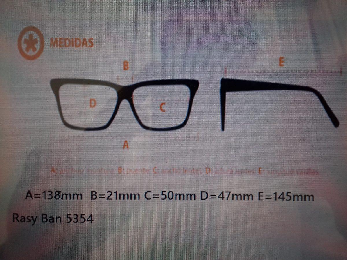c1305e5227f20b Lente Ray Ban Oftalmico 5354 -   2,700.00 en Mercado Libre