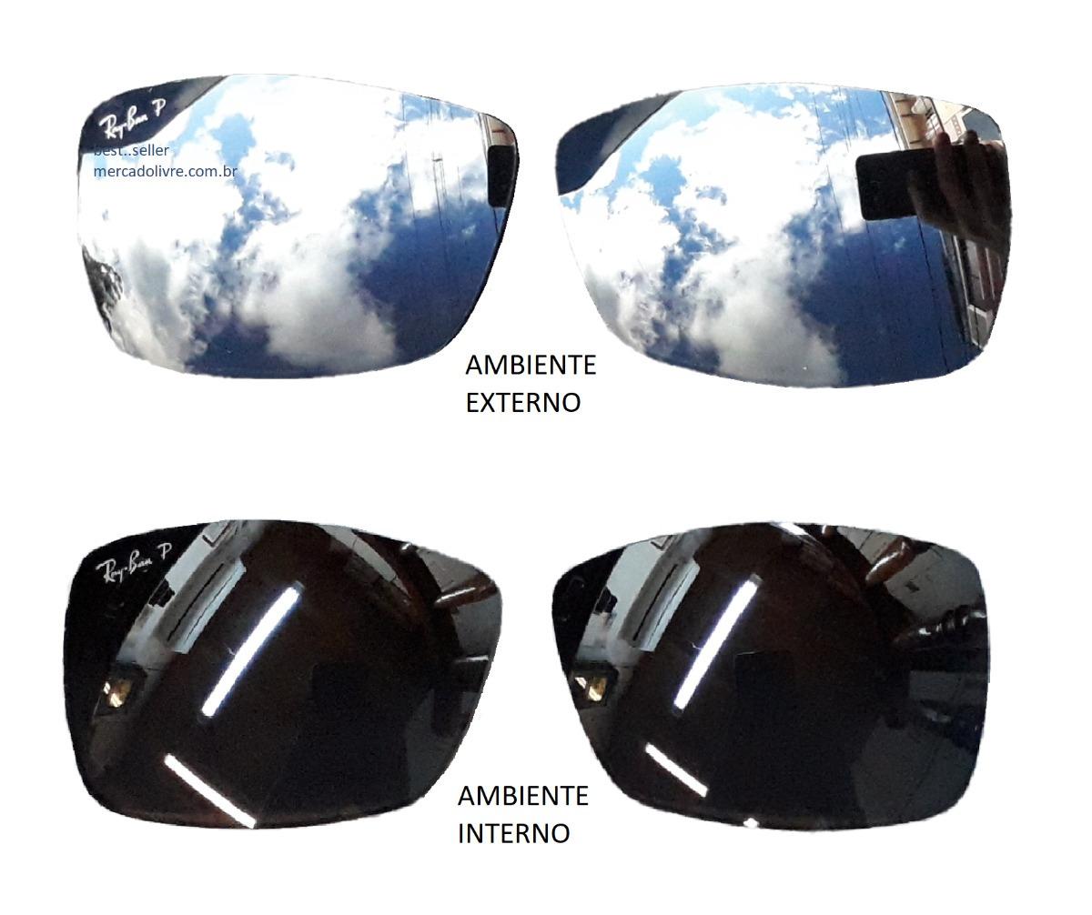 b7b5e2b122 lente ray ban rb4179 601s82 62 rb 4179 polarizado espelhado. Carregando zoom .