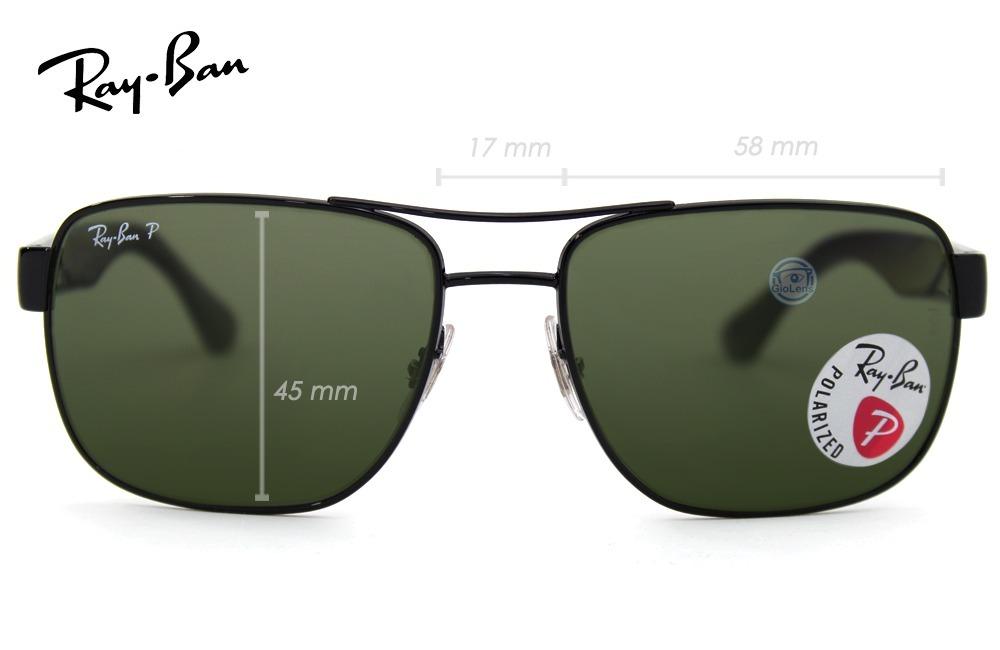 f9900e66f8a lente rayban rb3530 002 9a black green polarized msi. Cargando zoom.
