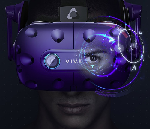 lente realidad virtual htc vive pro eye