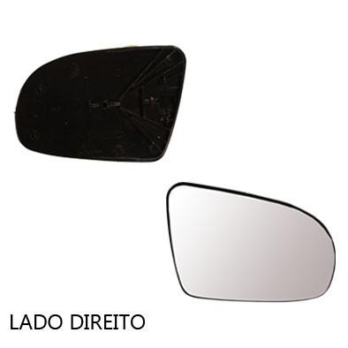 lente retrov manual corsa classic 02/12 com base - cada lado