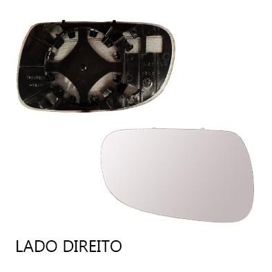 lente retrovisor crossfox 04/10 base original - cada lado