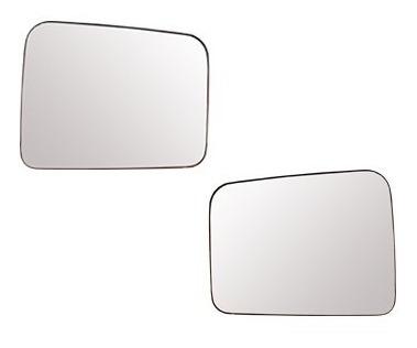 lente retrovisor fiorino 97/10 com base - cada lado