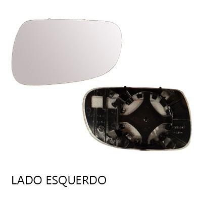 lente retrovisor fox 2004 até 2010 com base - cada lado