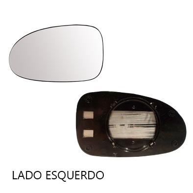 lente retrovisor parati g2 bola 96/99 com base - cada lado