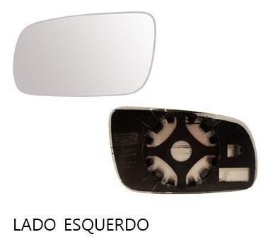 lente retrovisor santana 99/03 com base - cada lado
