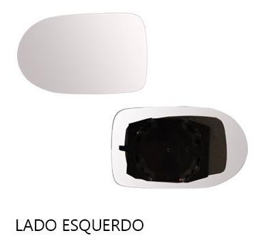 lente retrovisor uno economy 10/11 com base - cada lado